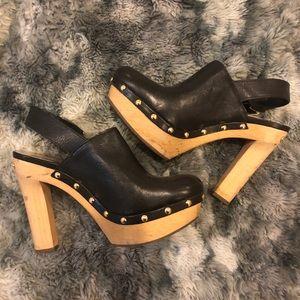 Michael Kors Shoes - Michael Kors Clog Heels